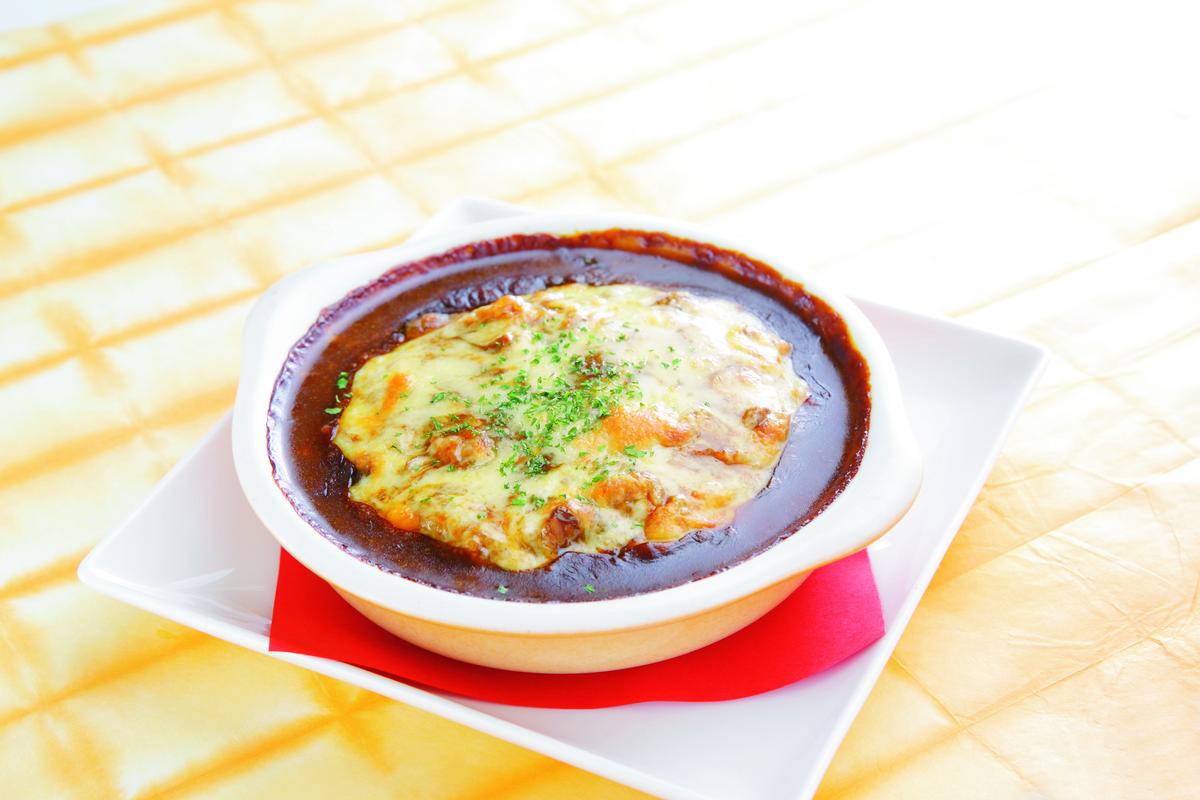 ガッシュマン 焼きチーズカレー