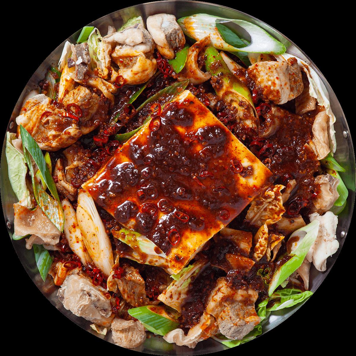 【選べる鍋パック】くずし麻辣豆腐鍋