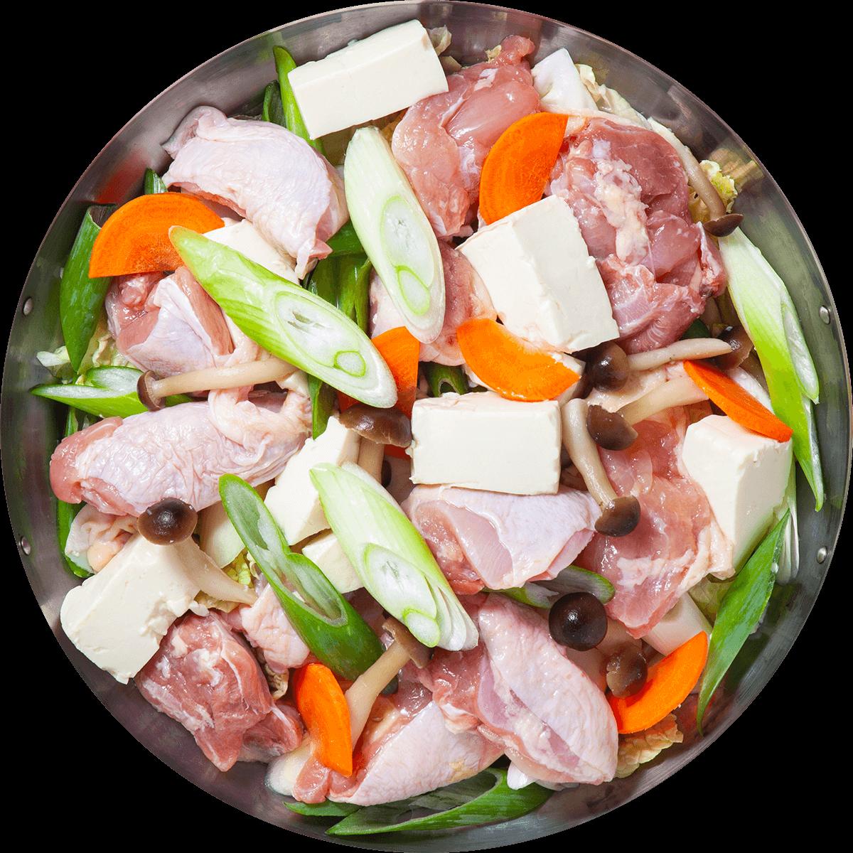 【選べる鍋パック】塩ちゃんこ鍋