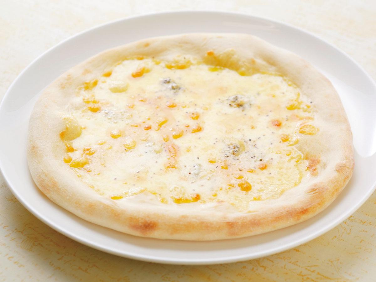 ピッツァ 4種のチーズクワトロフォルマッジ