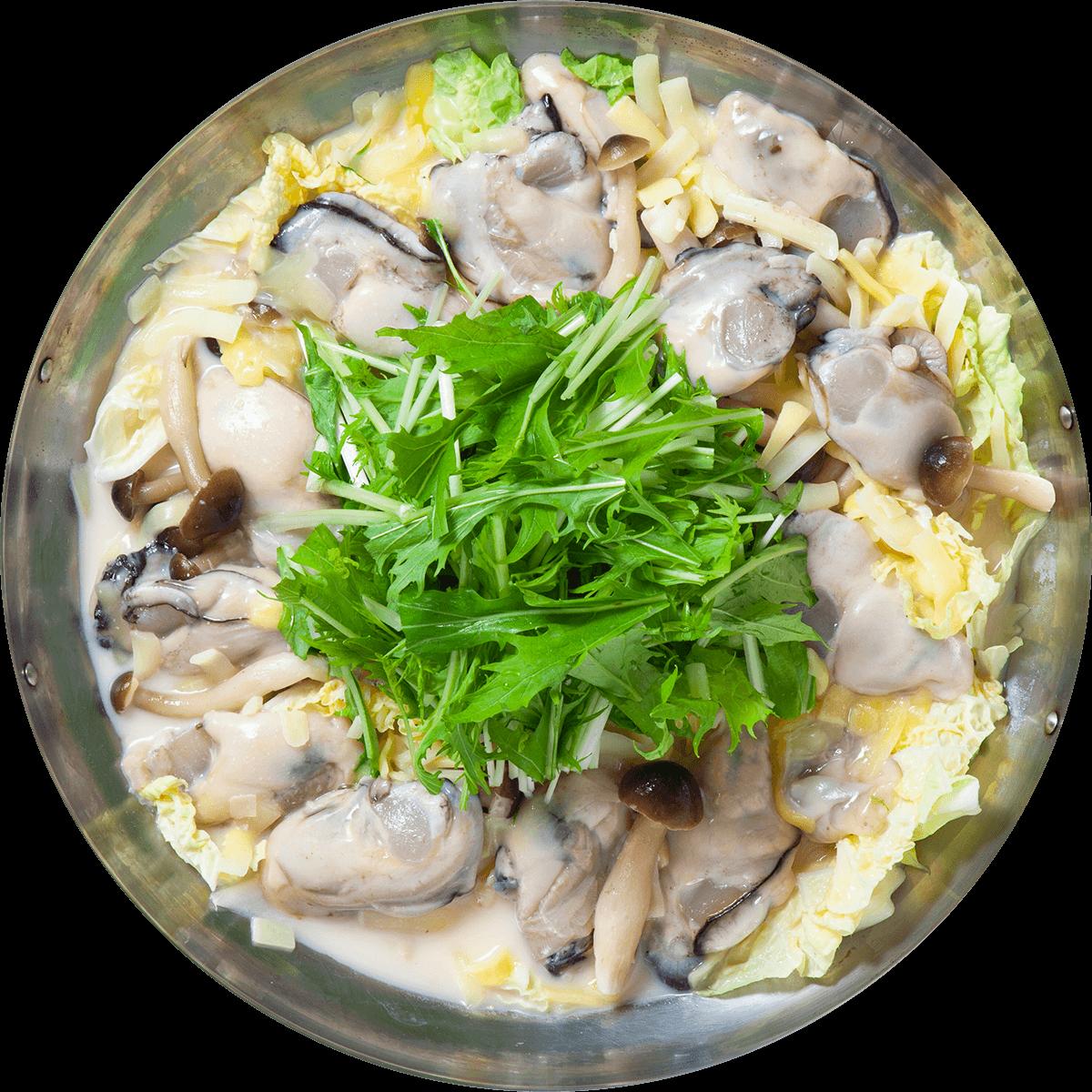 【選べる鍋パック】3種のチーズ牡蠣鍋